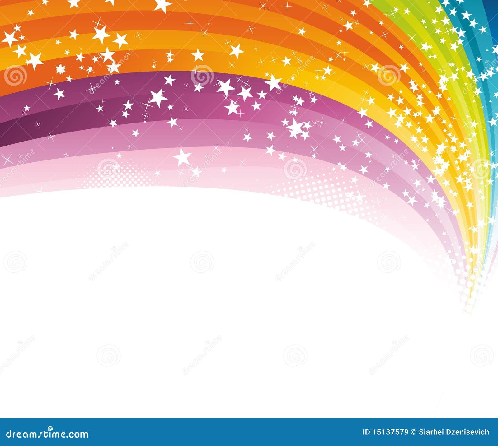 rainbow advertising background template royalty stock images rainbow advertising background template