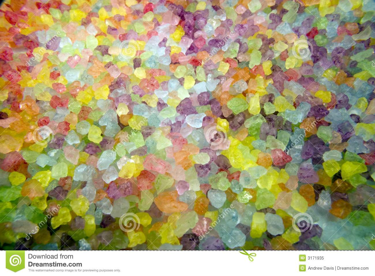 Rainbow Of Bath Salts Stock Image Image Of Crystals Drug