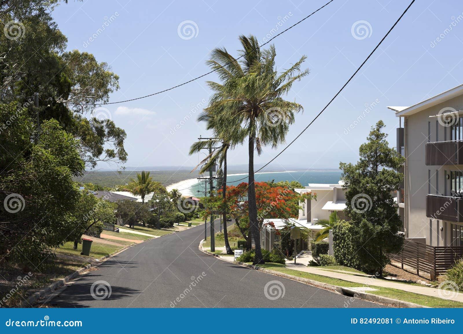 Rainbow Beach in Queensland