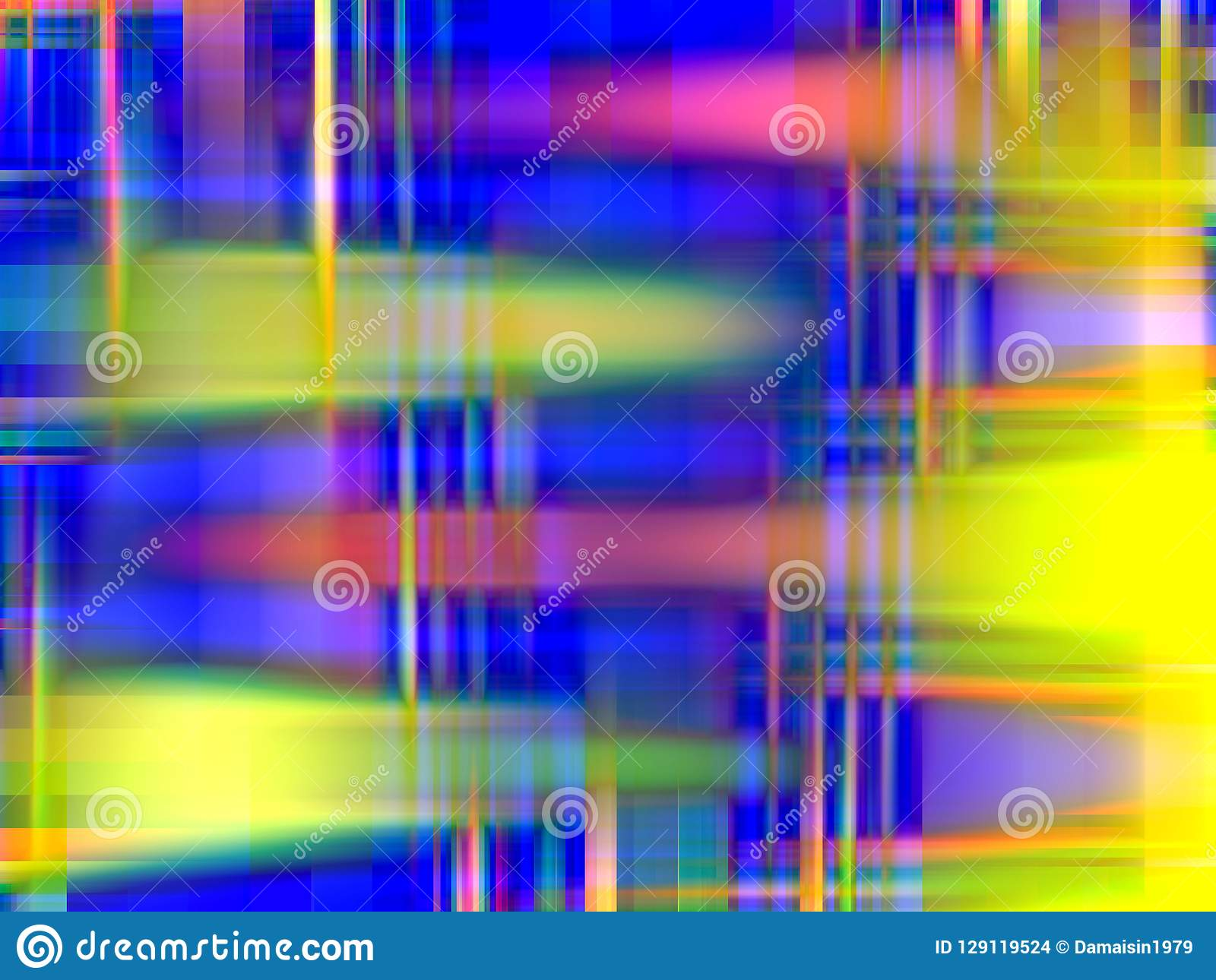 Rainbow blue yellow pink lights background graphics, abstract background and texture