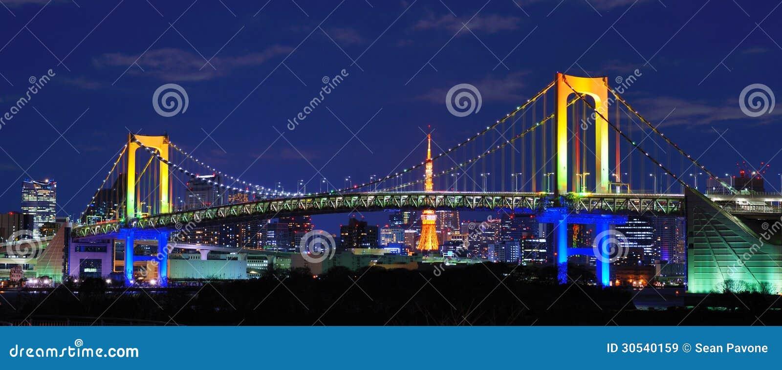 Rainbow Bridge Royalty Free Stock Images Image 30540159