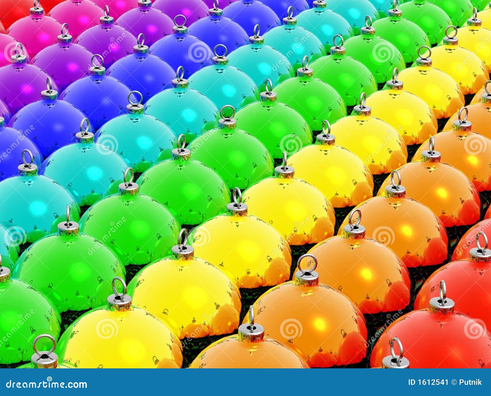 Rainbow Christmas Stock Image - Image: 1612541