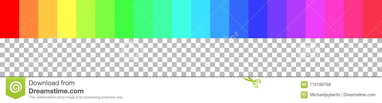 Rgb Rainbow Colors With Checkered Background Stock Illustration Illustration Of Visualisation Color 116180768