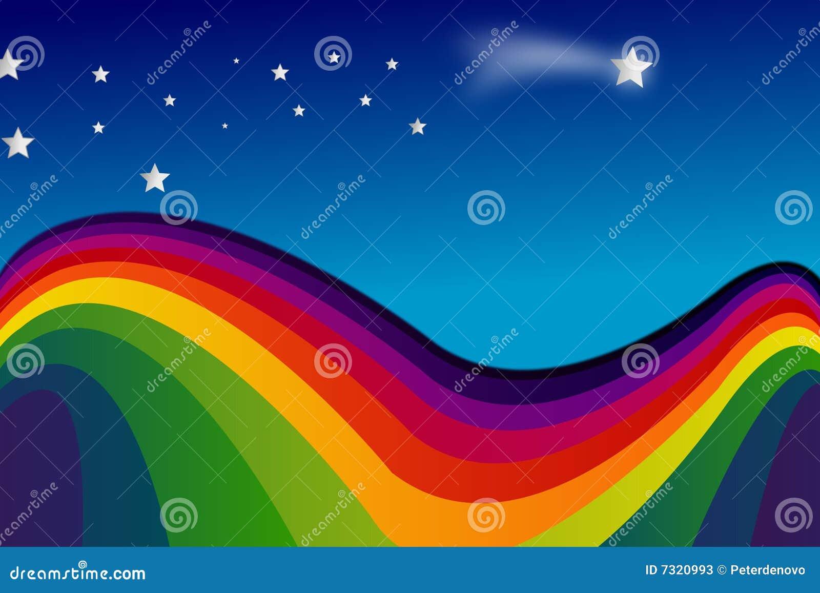 Rainbow e stelle