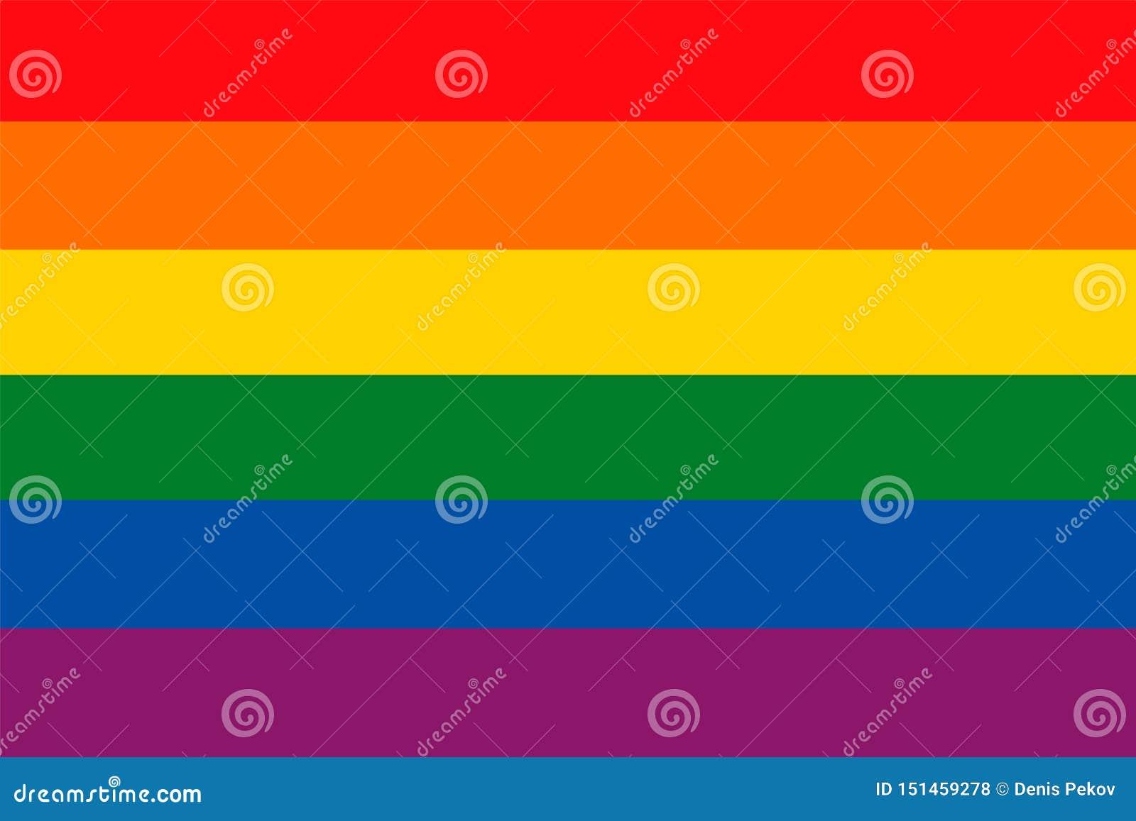 Rainbow flag as a background