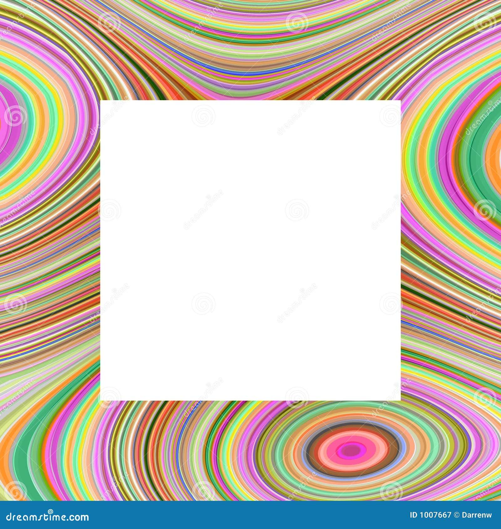 Rainbow Frame stock illustration. Illustration of backgrounds - 1007667