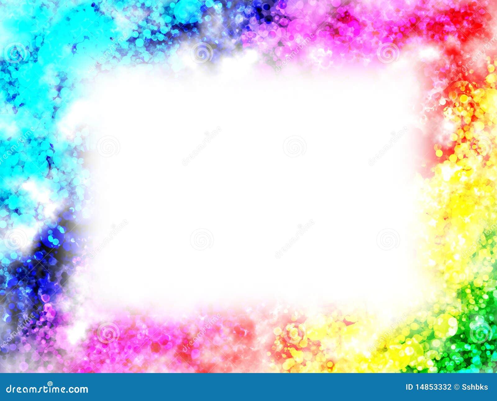 Rainbow frame stock illustration. Illustration of blur - 14853332