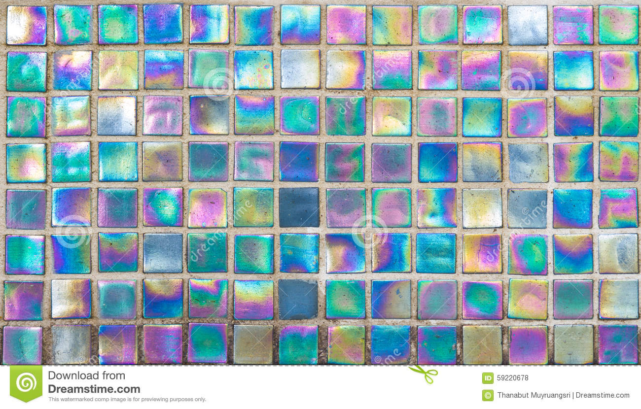 Rainbow Glass Mosaic Tile Stock Photo Image 59220678