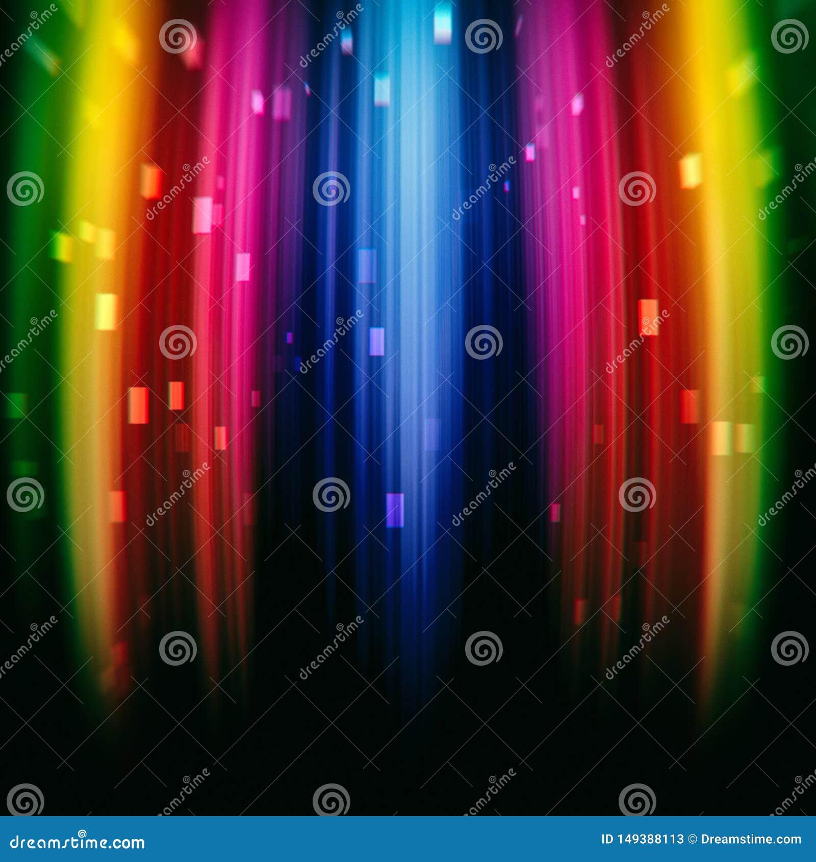 Bright rainbow texture gradient background