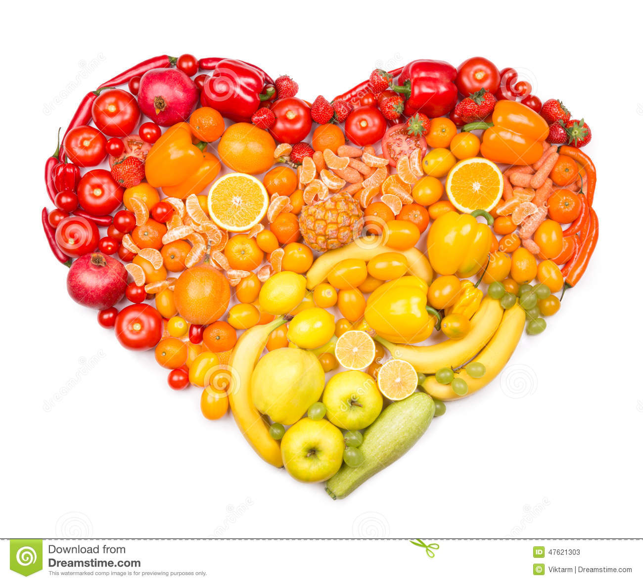 is corn a fruit healthy fruits for the heart