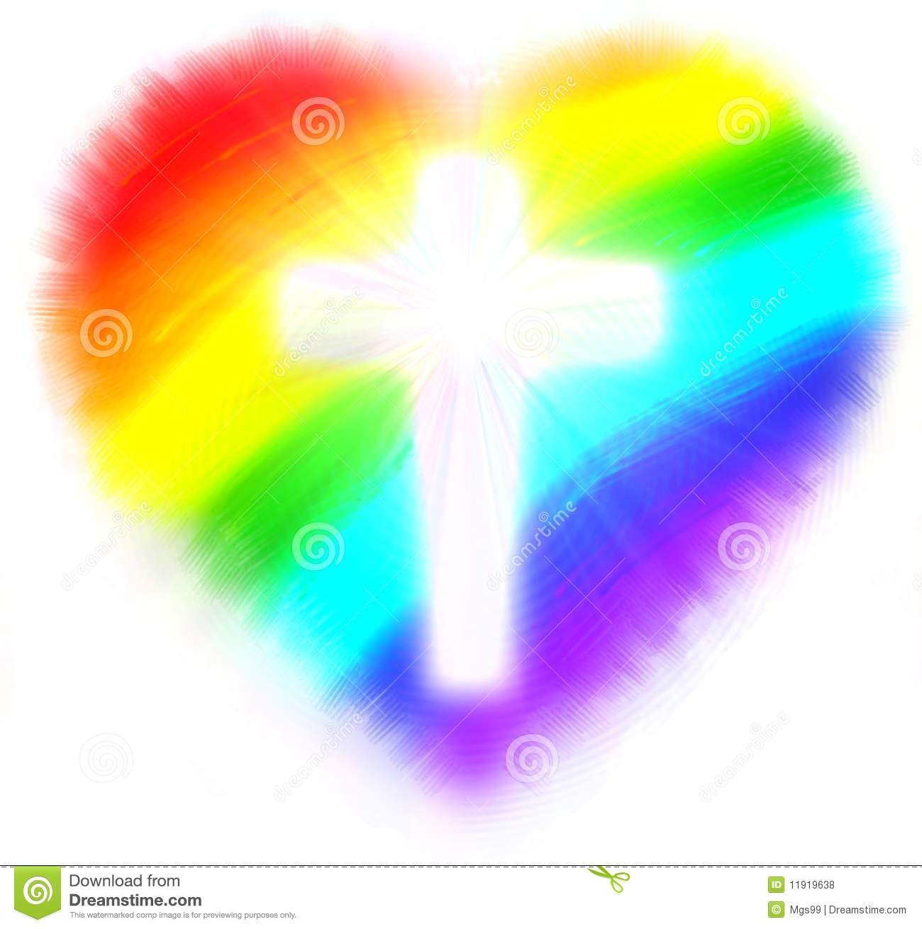 Rainbow Hearts Clipart rainbow heart stock photos, images, & pictures ...