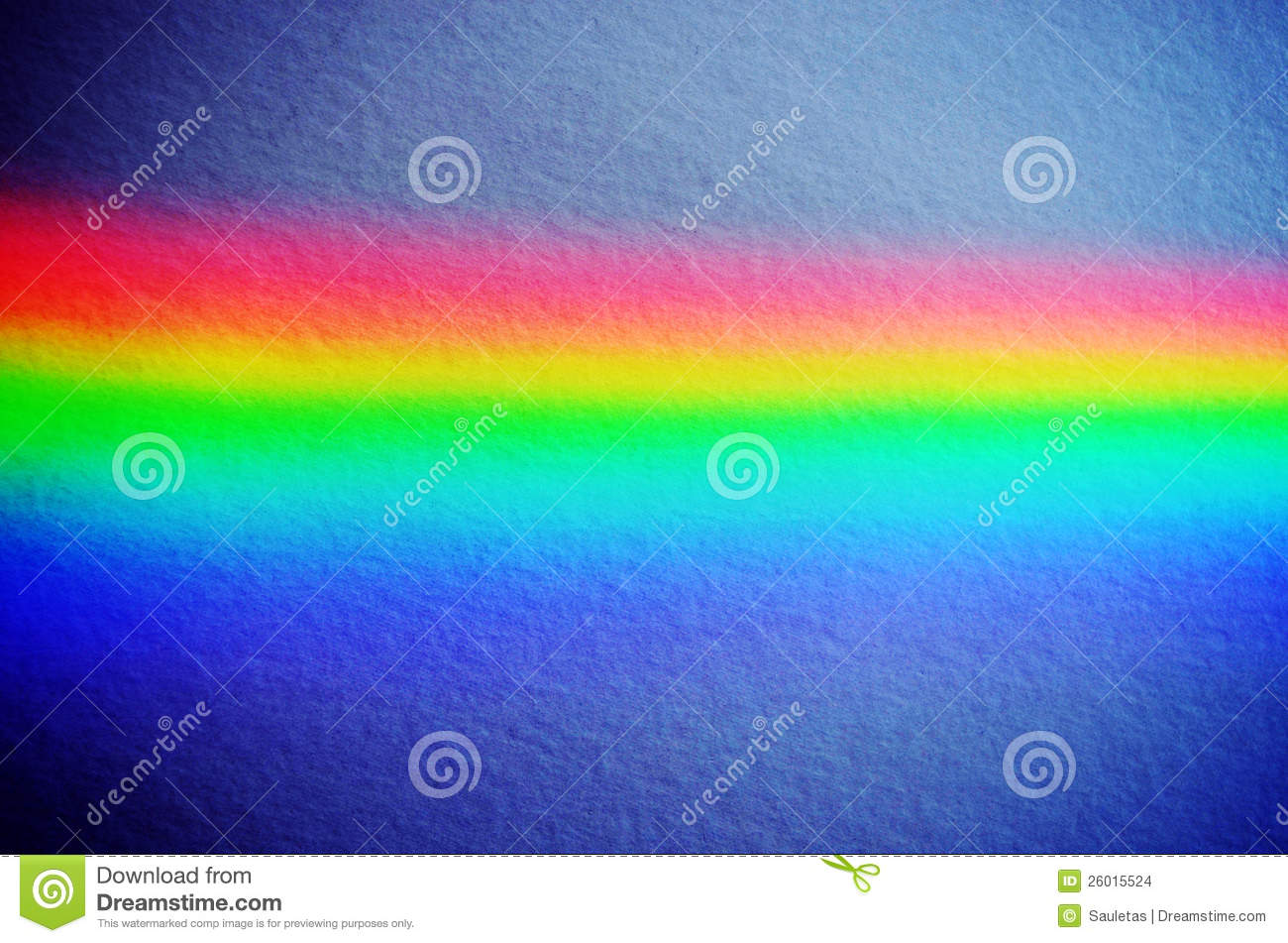 Rainbow Notes On Light Background Stock: Rainbow Light On Concrete Yellow Wall Background Stock
