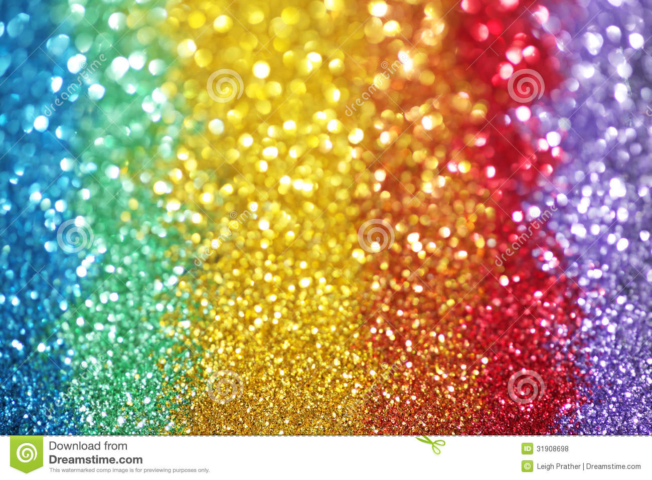 Rainbow Of Lights Royalty Free Stock Photos - Image: 31908698