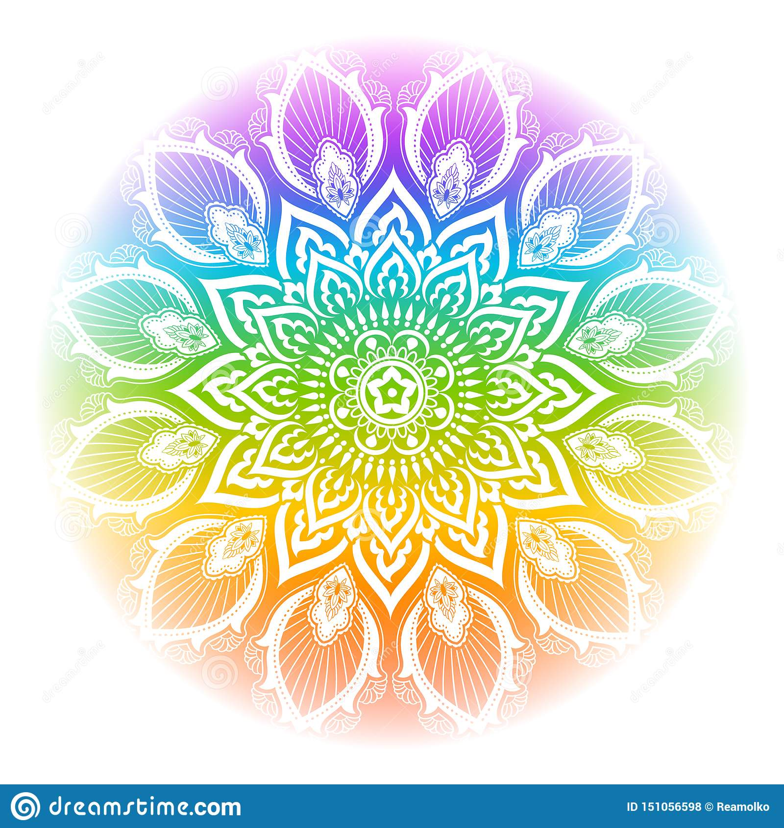289+ Rainbow Mandala Svg – SVG,PNG,DXF,EPS include