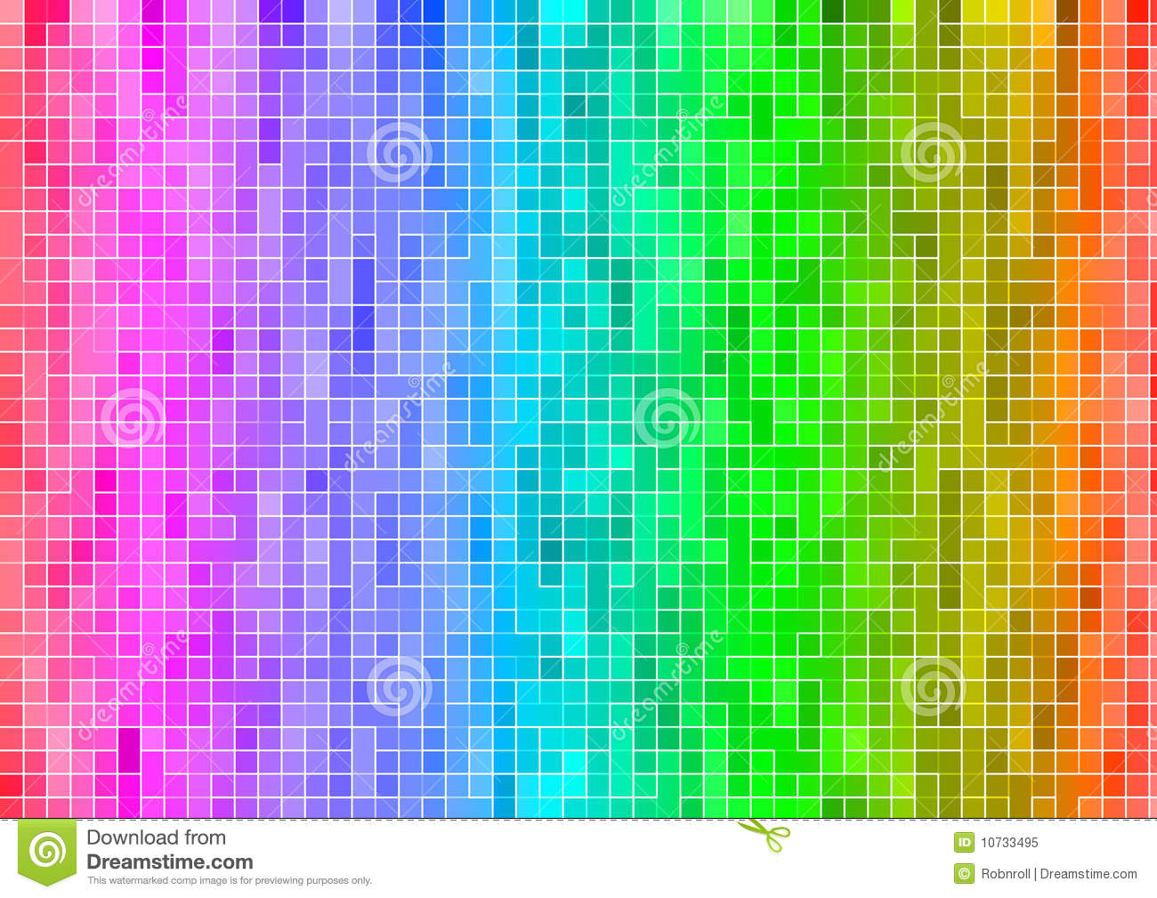 pixel rainbow wallpaper google - photo #1