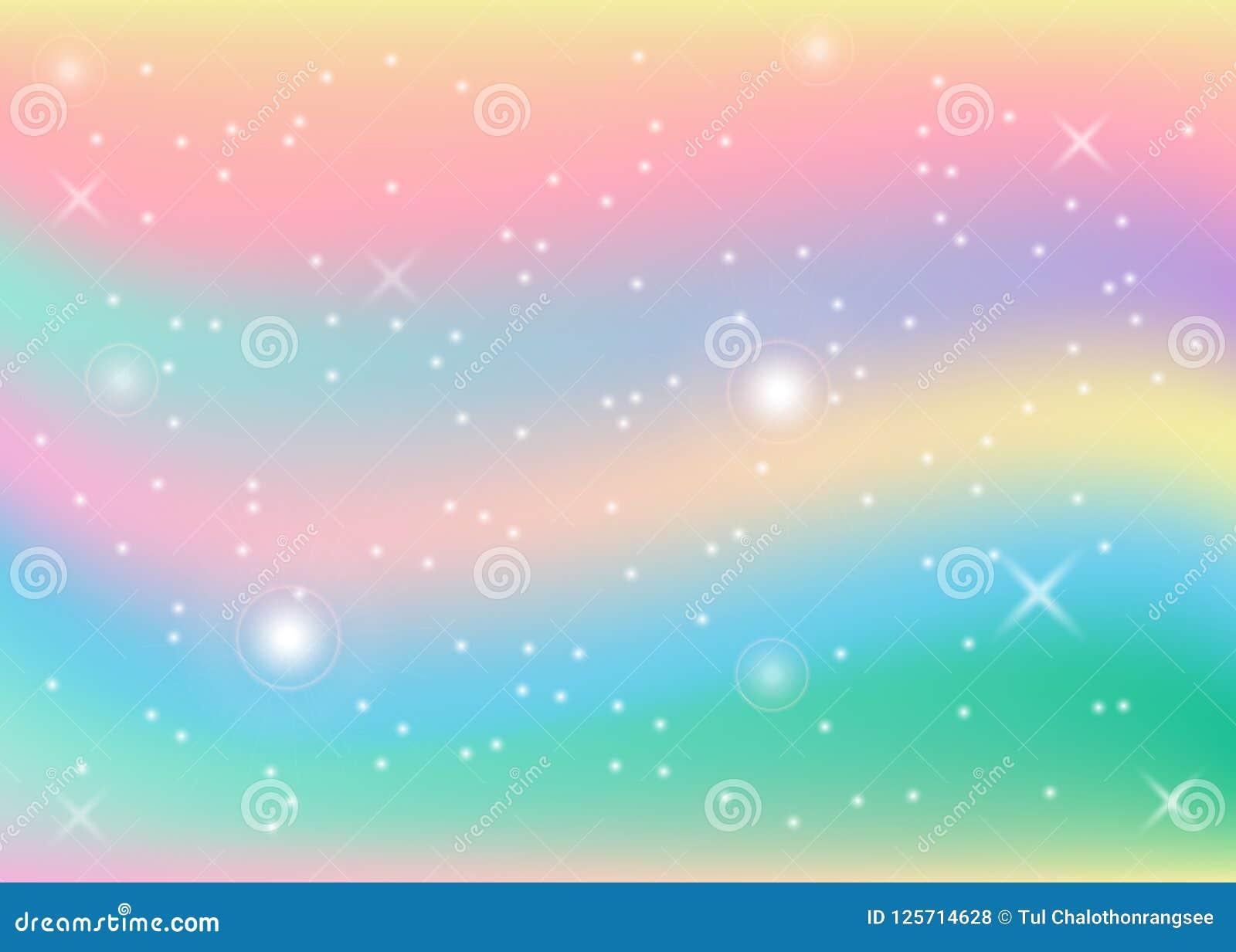 Rainbow pastel background stock vector illustration of - Rainbow background pastel ...