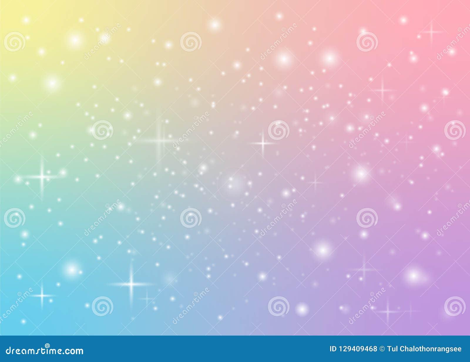 Rainbow Pastel Background Stock Illustration Illustration Of Party 129409468