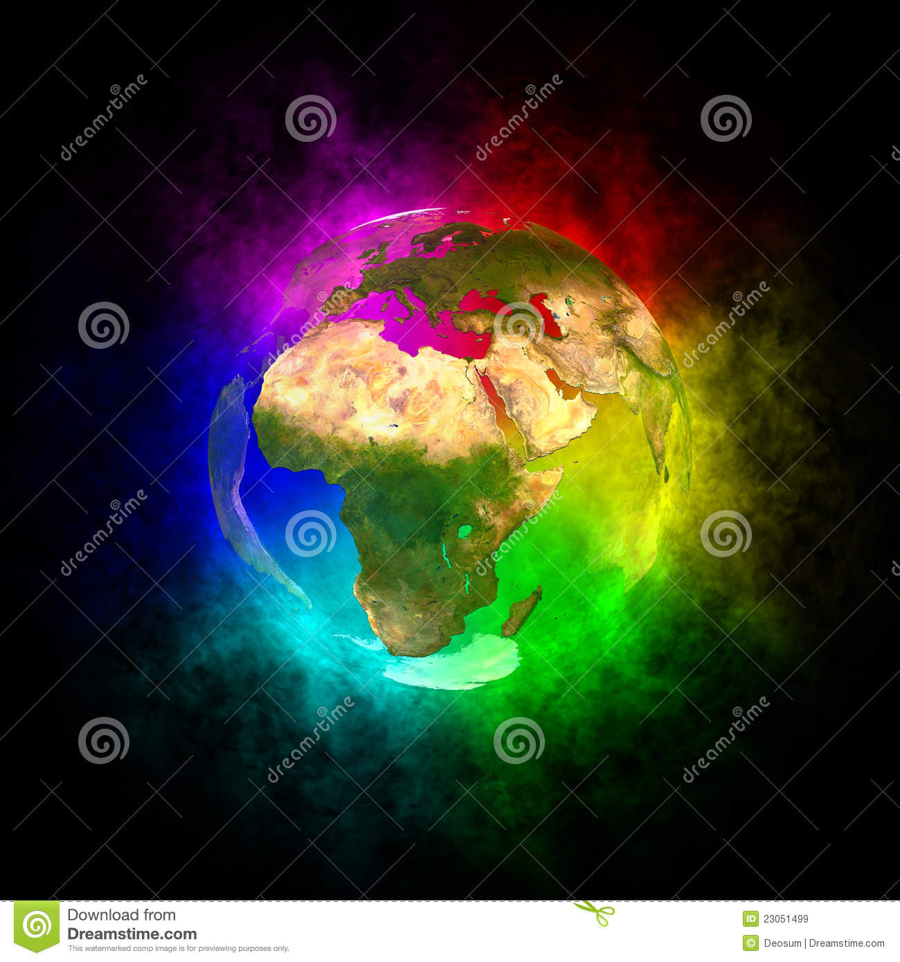 https://thumbs.dreamstime.com/z/rainbow-planet-earth-europe-23051499.jpg