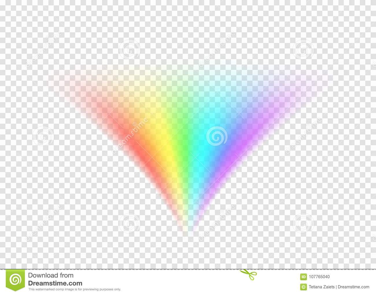 Rainbow Notes On Light Background Stock: Rainbow Road On Light Transparent Background Stock Vector