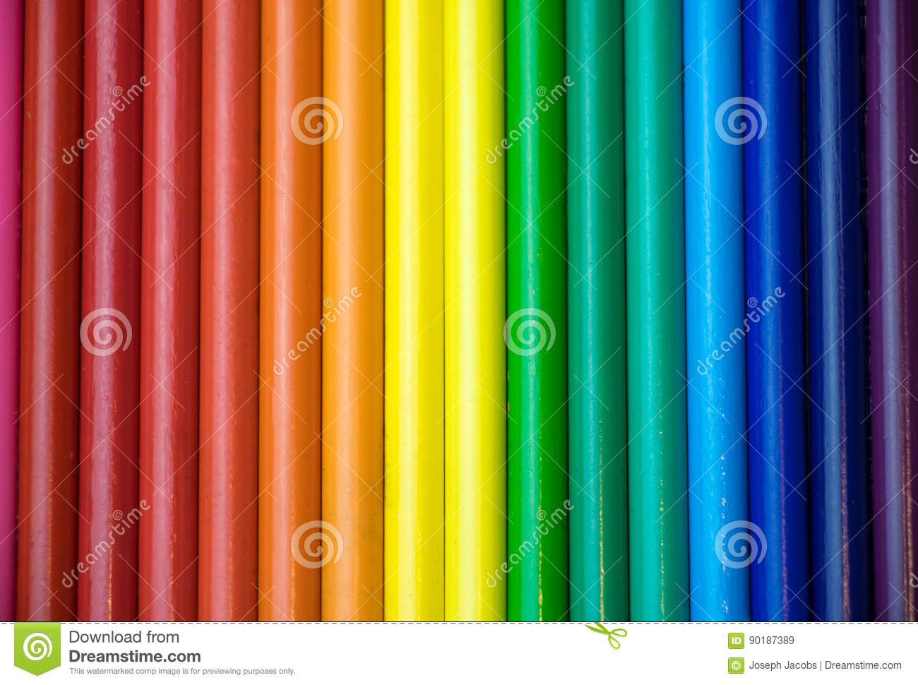 Rainbow colors in order pictures - Colored Order Pencils Rainbow