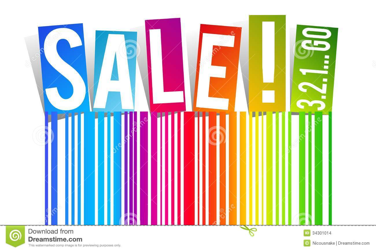 Rainbow Sale Stock Vector. Image Of Banner, Arrival
