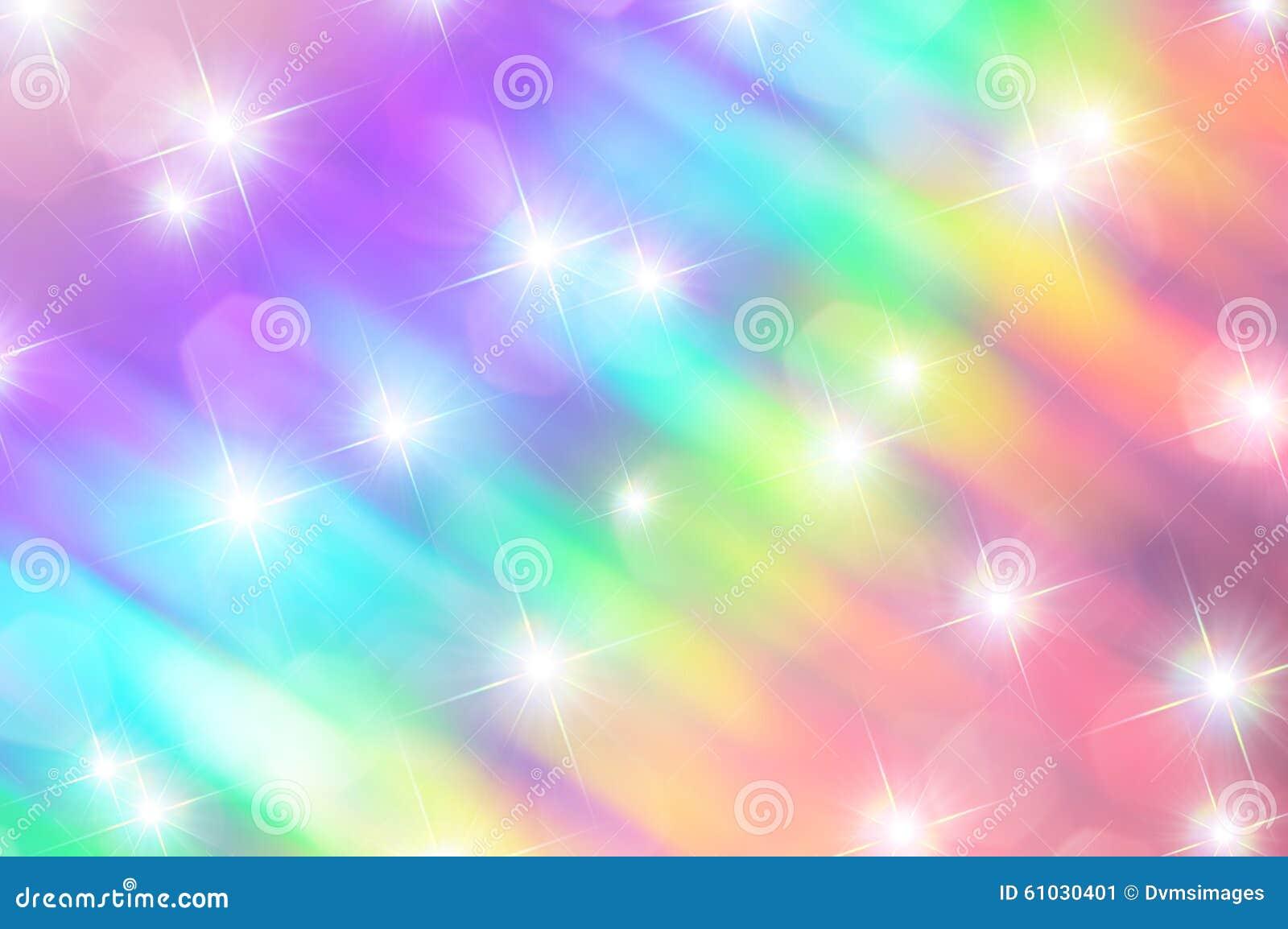 Rainbow Sparkle Stock Illustration - Image: 61030401