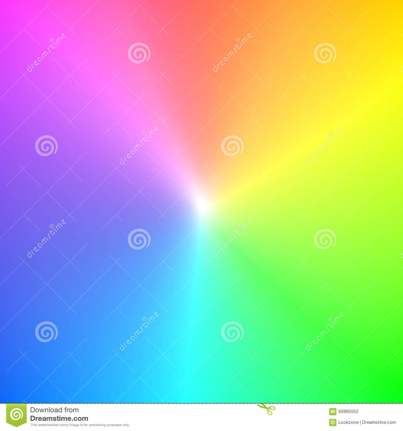 Rainbow Spectrum Colors