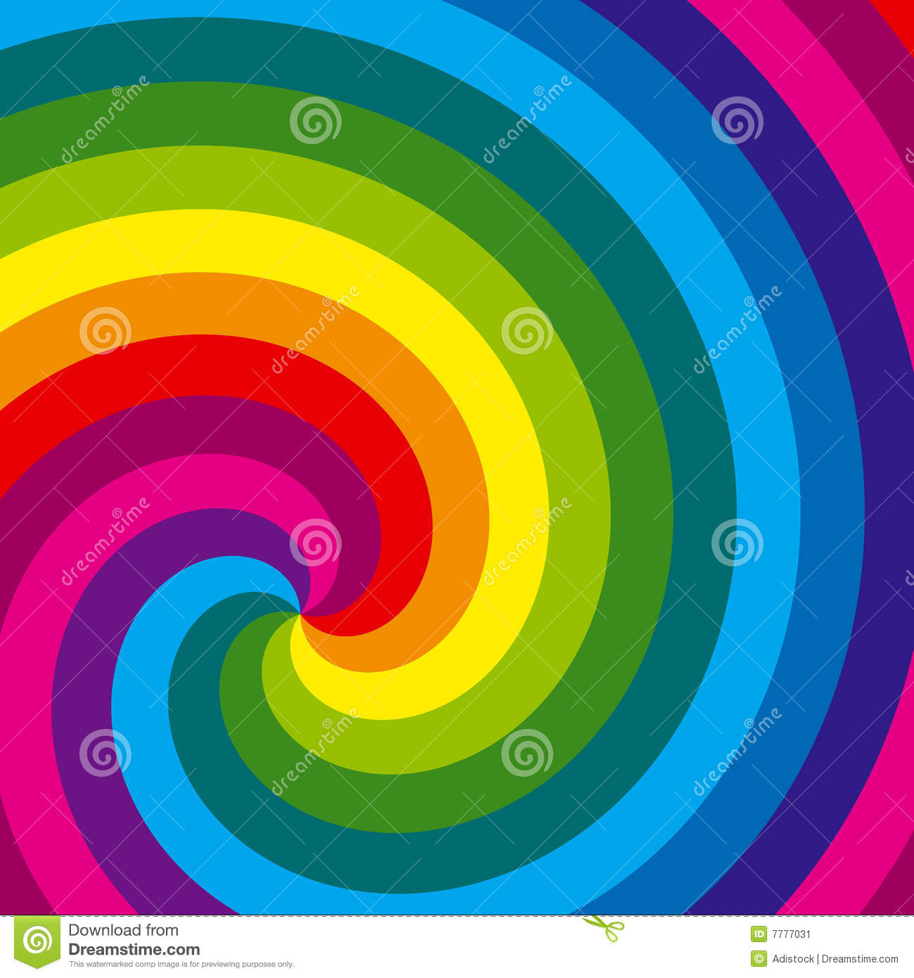 Green Background Design Wallpaper Rainbow Swirl Backgrou...