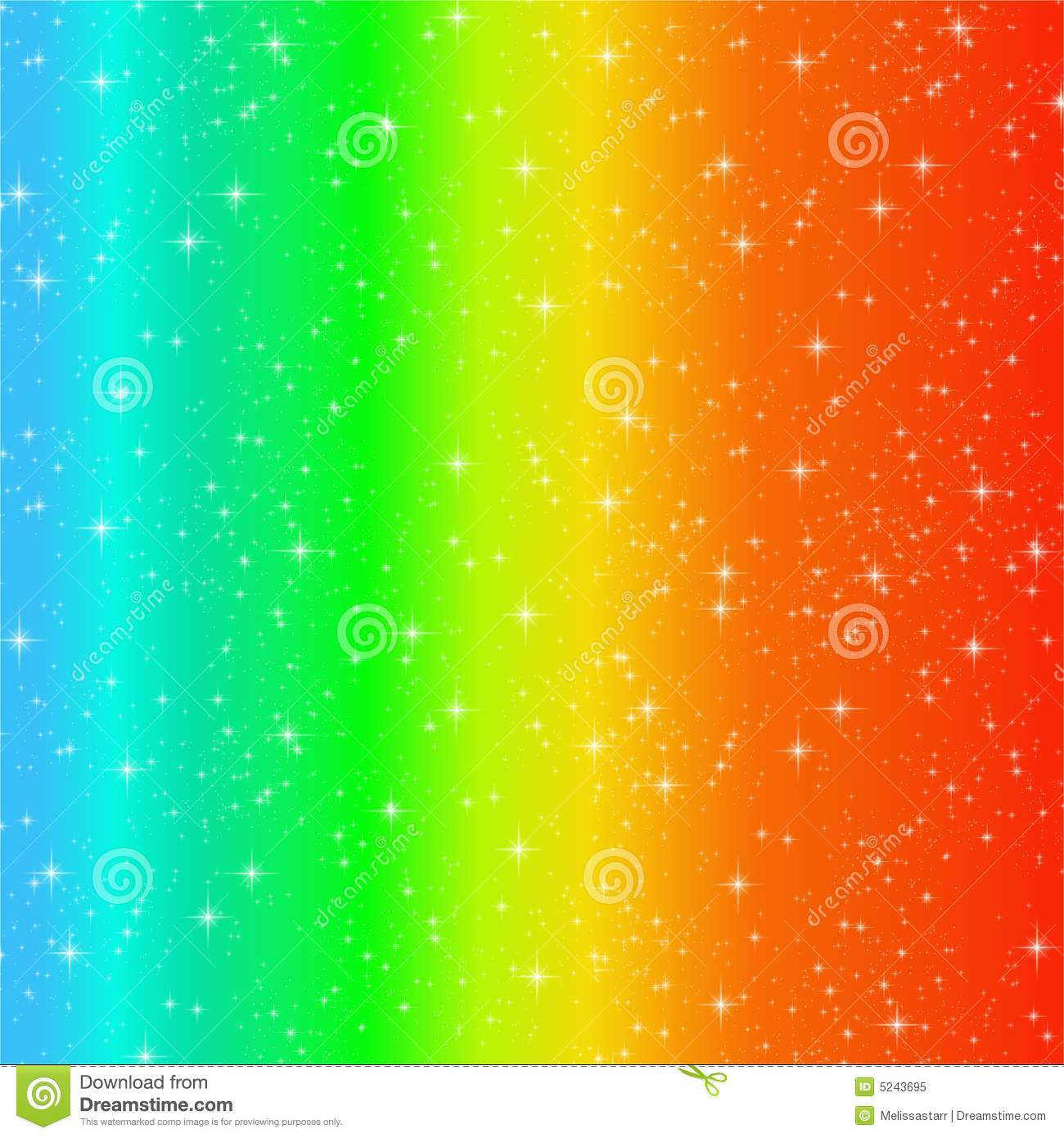 Rainbow Swirl Sparkles Royalty Free Stock Photo - Image: 5243695