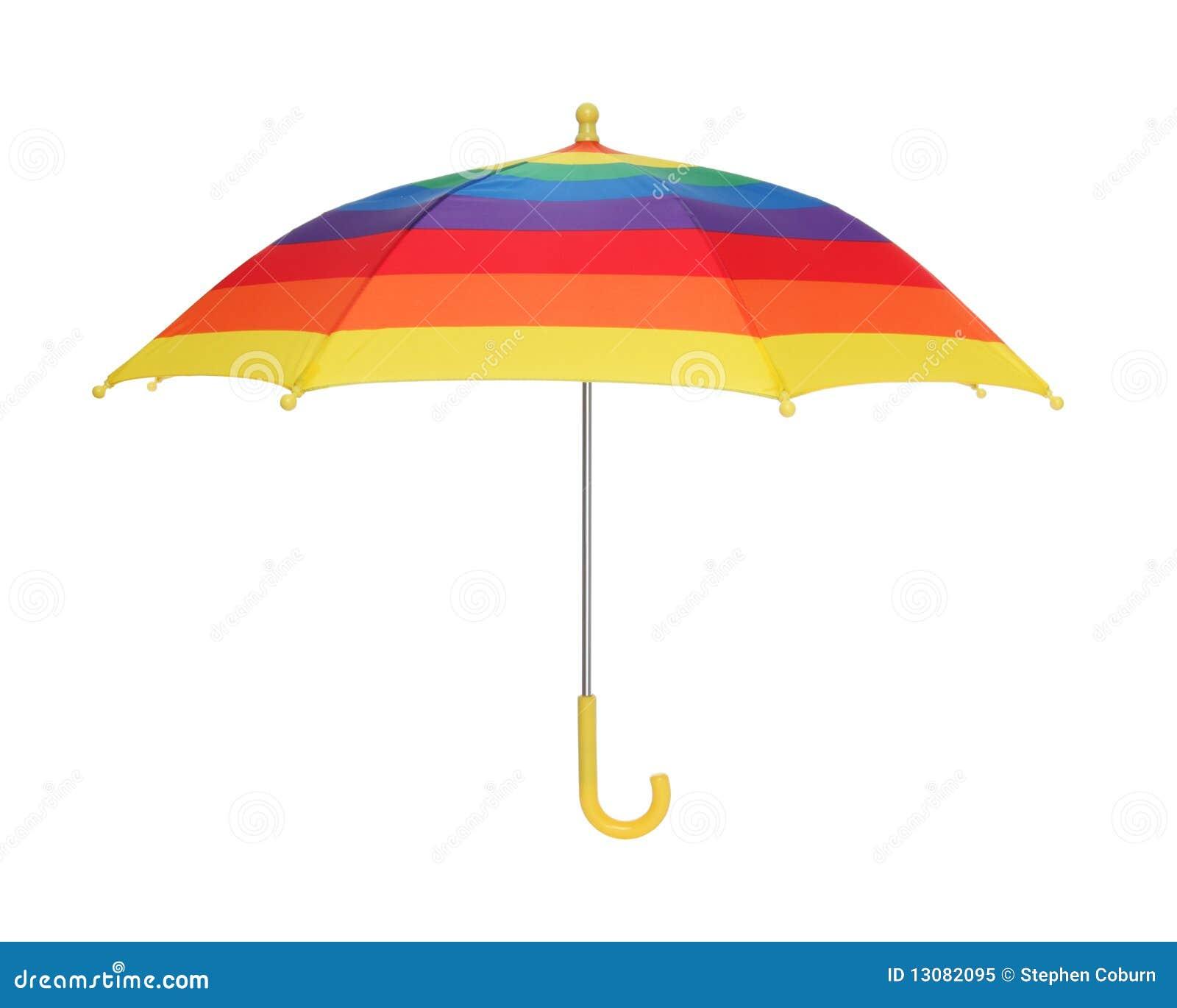 rainbow umbrella clip art - photo #40