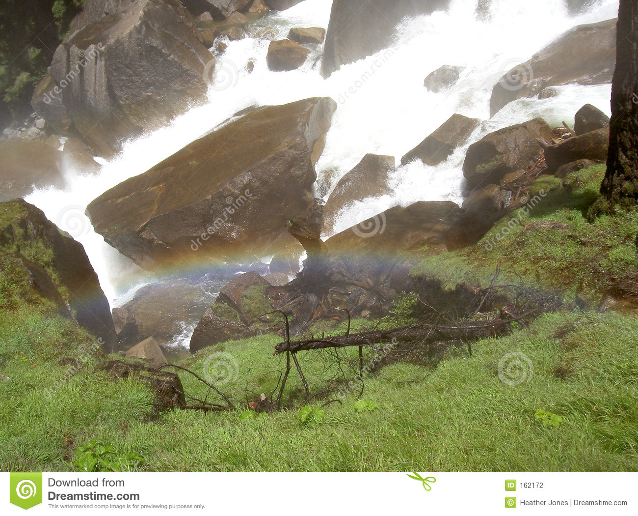Rainbow at Vernal Falls 2