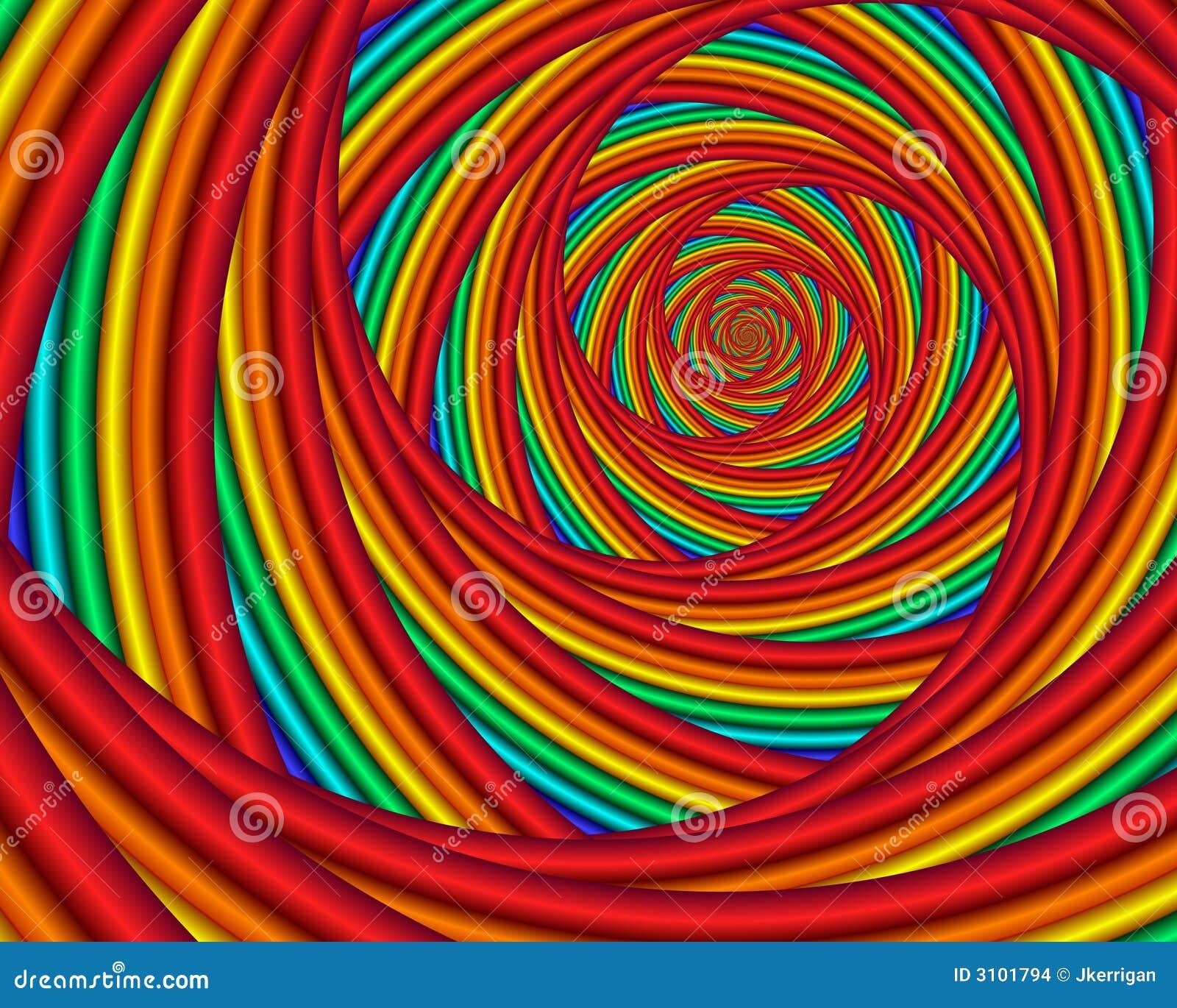 rainbow vortex stock illustration illustration of prism 3101794. Black Bedroom Furniture Sets. Home Design Ideas