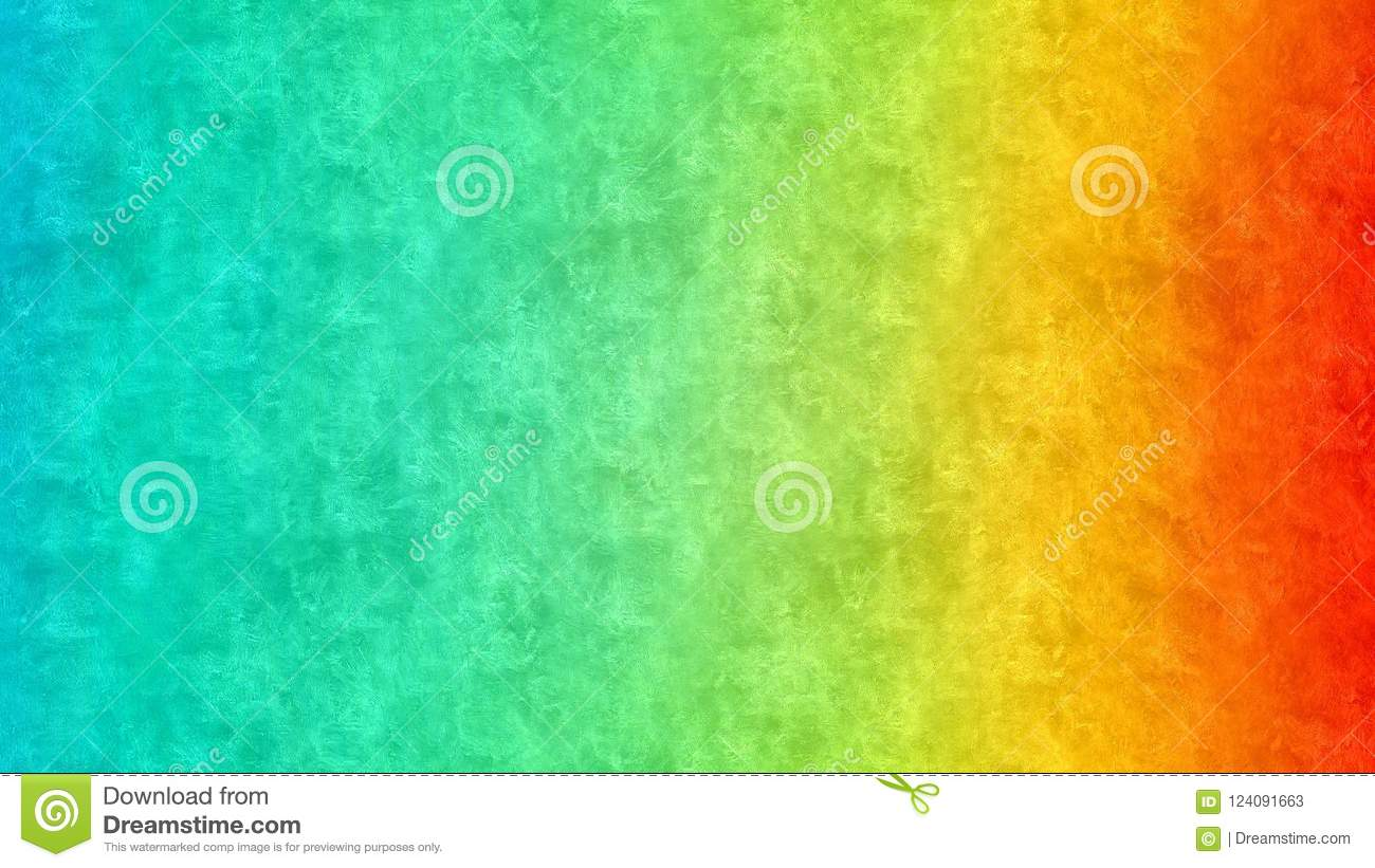 Abstract wallpaper, rainbow ombre background, waves sea painting