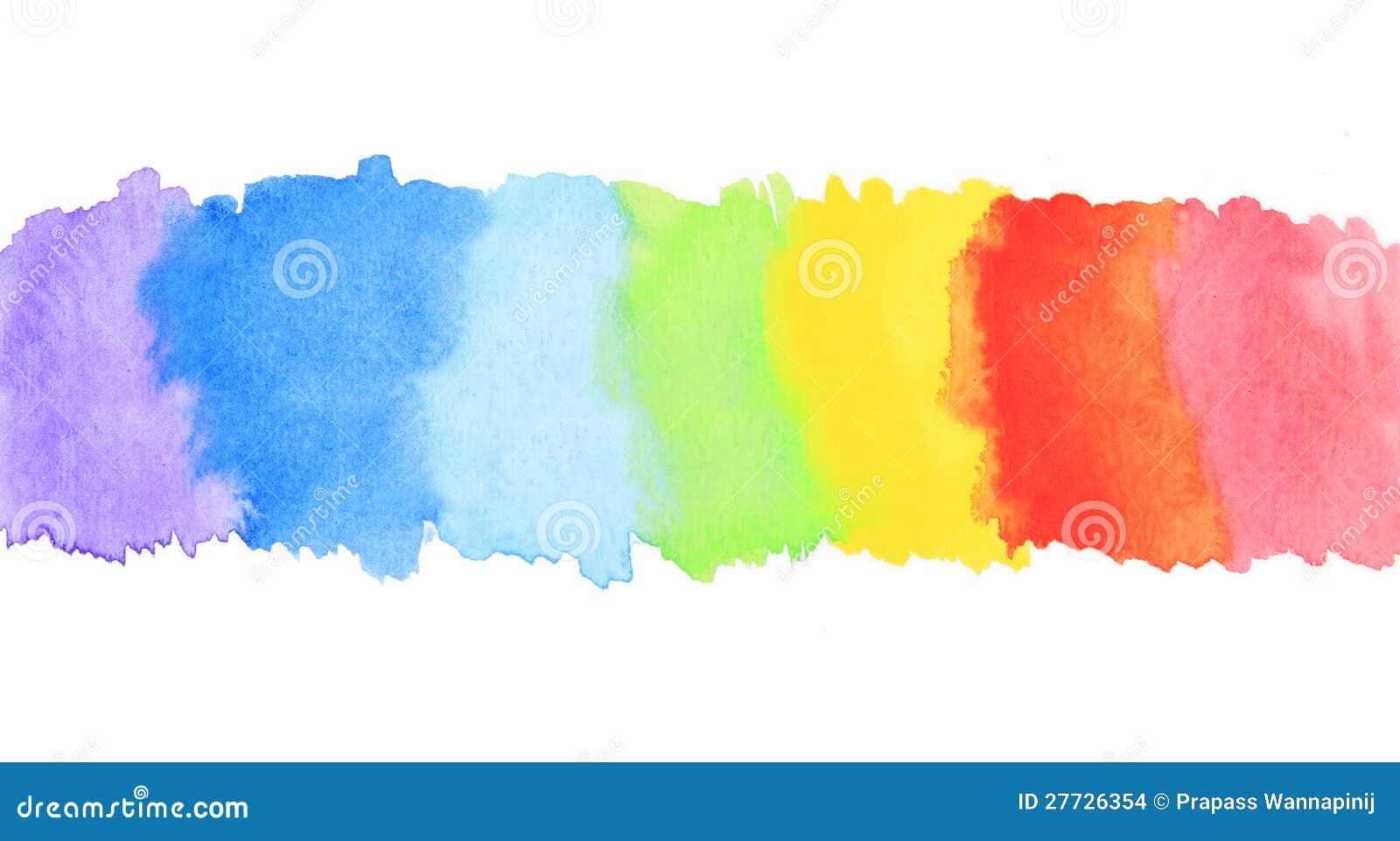 Paint texture paints background download photo color paint texture - Rainbow Watercolor Paint Stripe Stock Images Image 27726354
