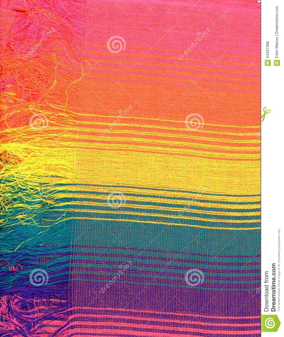 Rainbow Book Cover Material : Rainbow woven fabric stock photo image of green purple