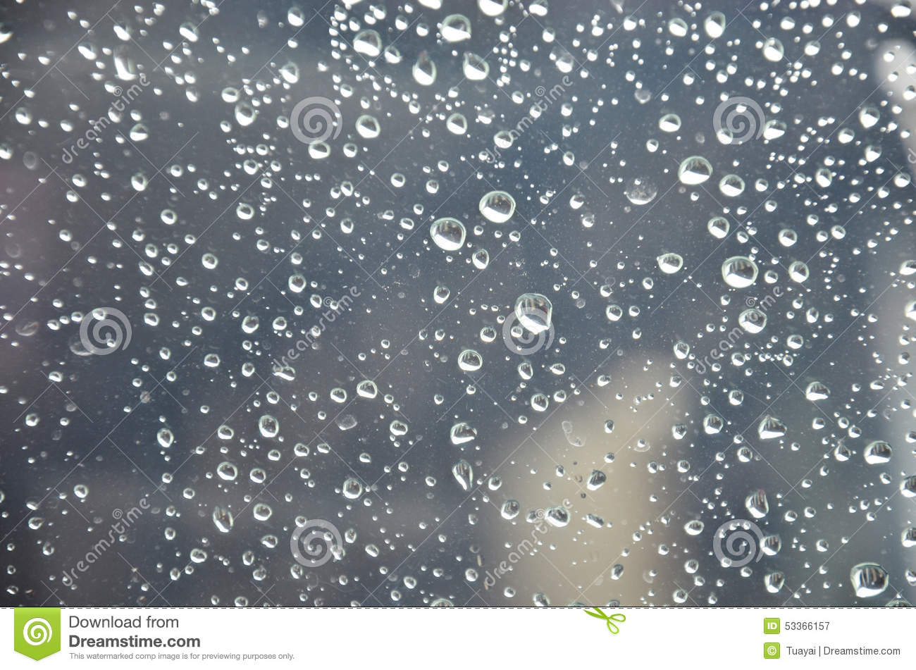 Nonthaburi Thailand  City pictures : Raindrop on Glass plate of my car location in Nonthaburi, Thailand.