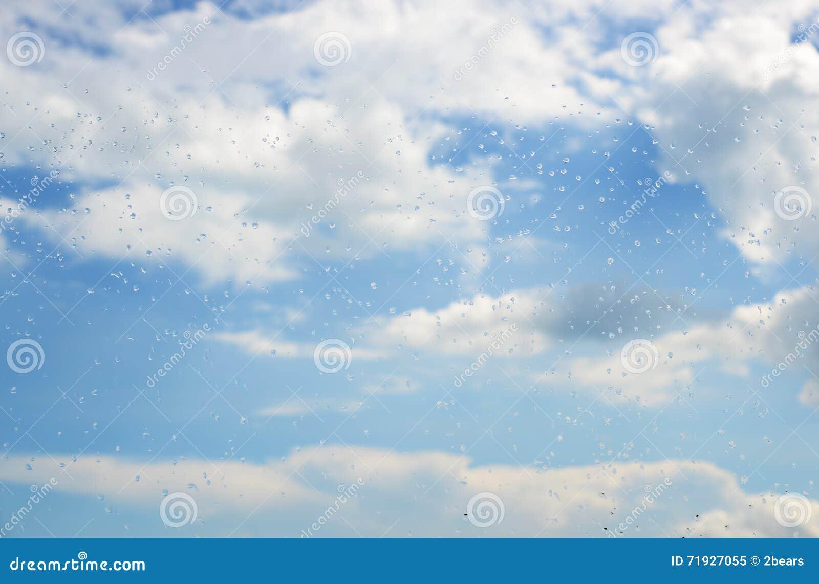 Raindrops на окне