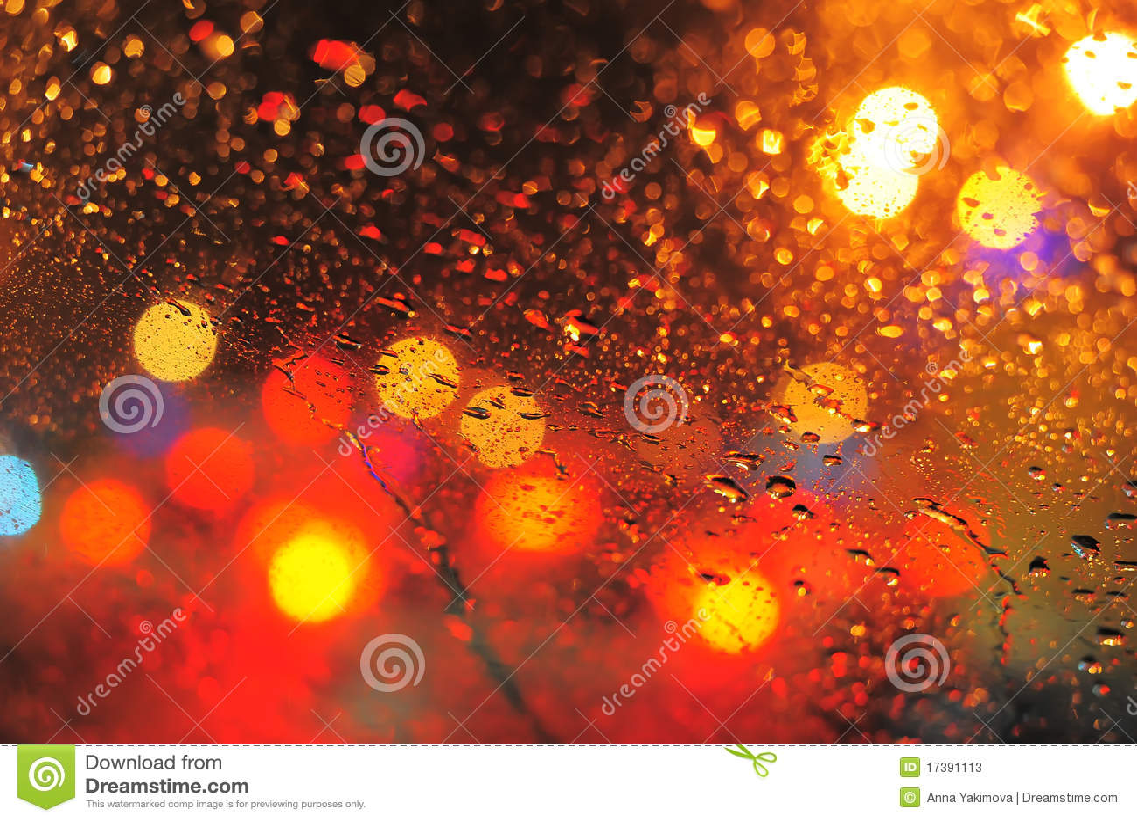 Raindrops Stock Photos - Image: 17391113