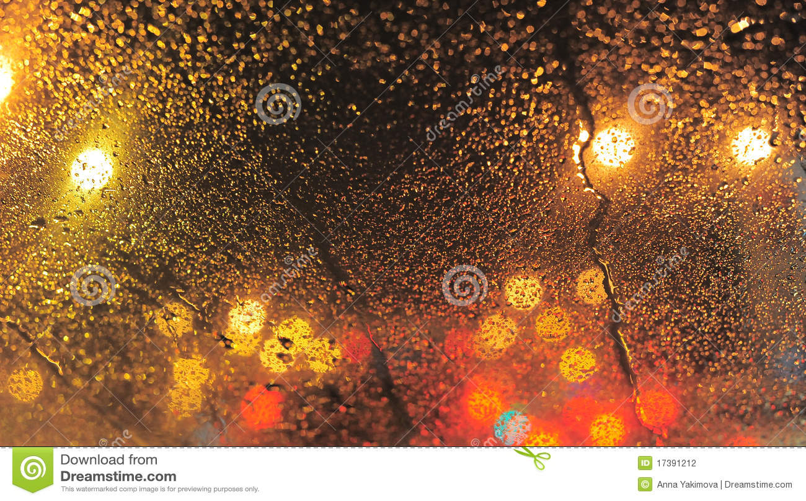 Raindrops Stock Photography - Image: 17391212