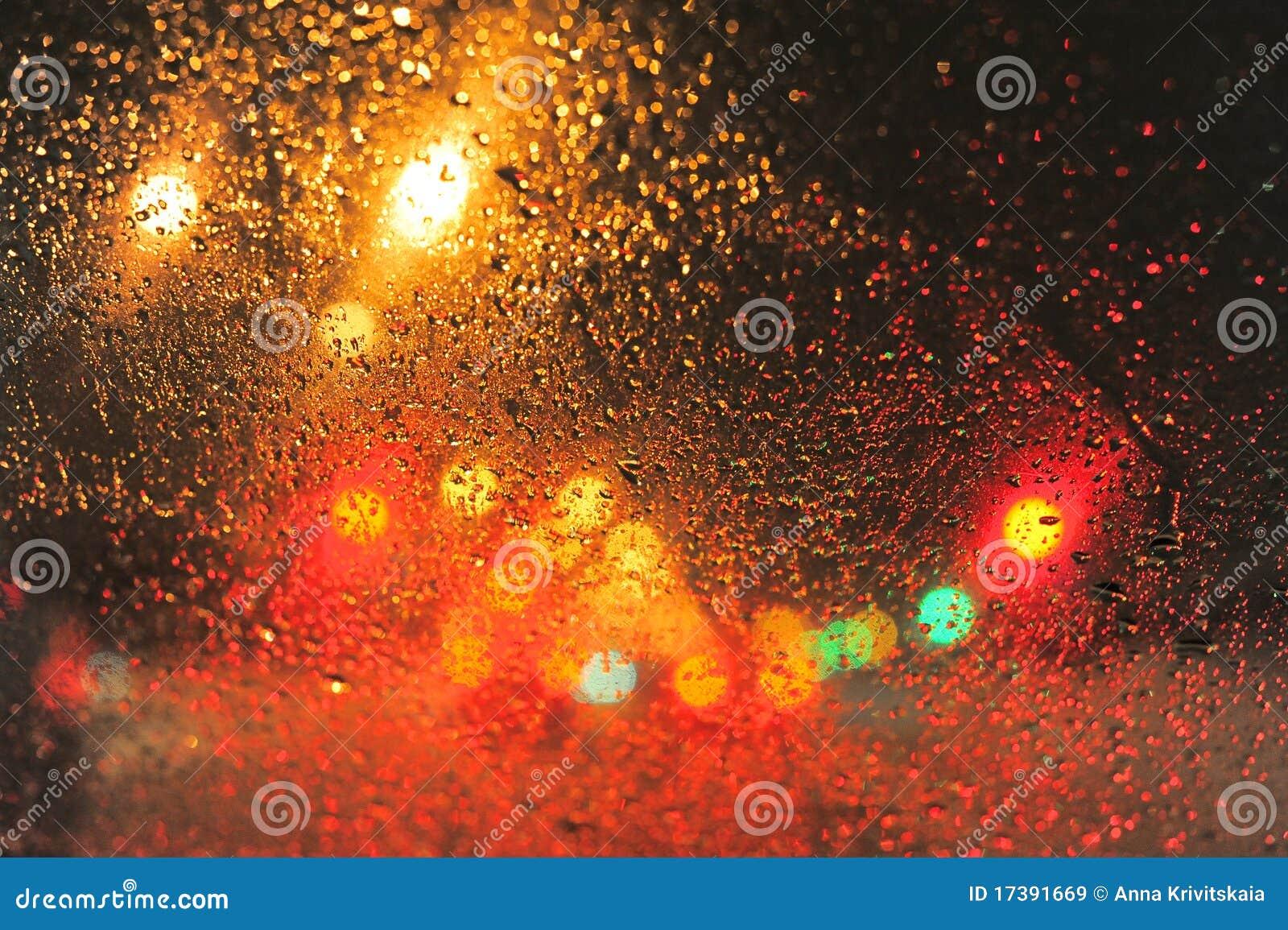 Raindrops Royalty Free Stock Images - Image: 17391669