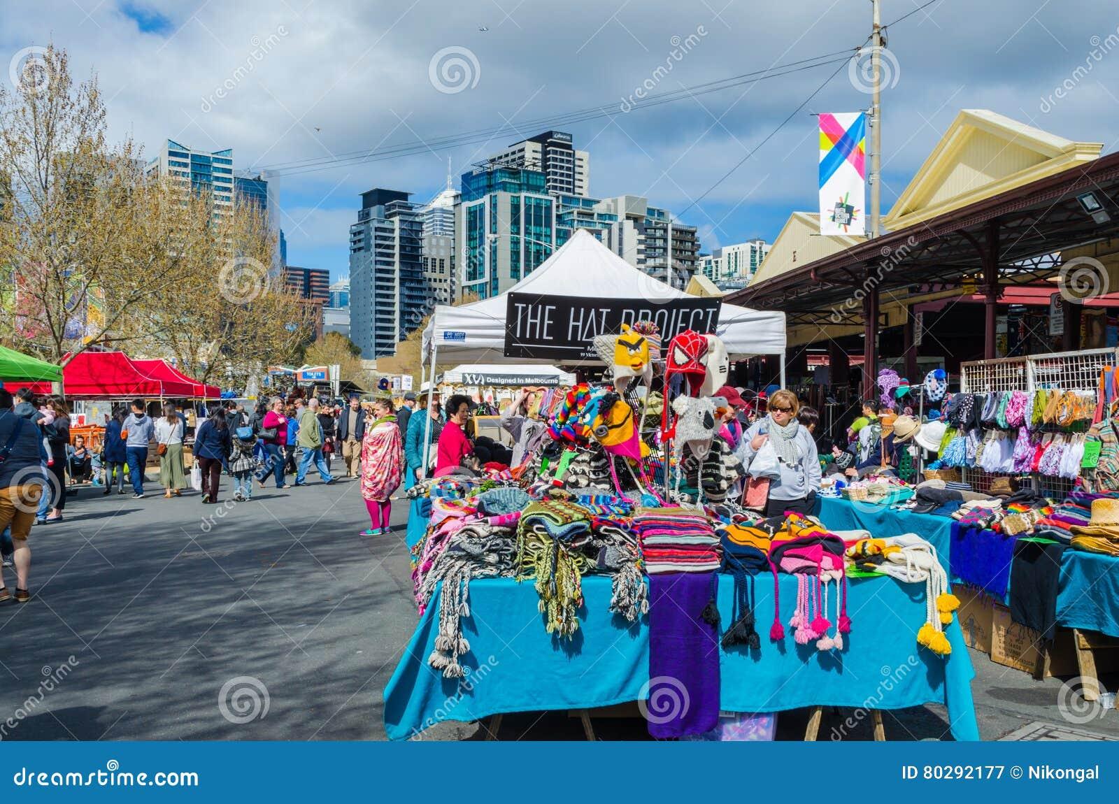 Rainha Victoria Market, Melbourne, Austrália