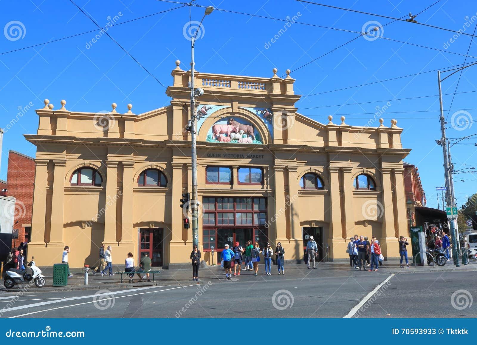 Rainha Victoria Market Melbourne Australia