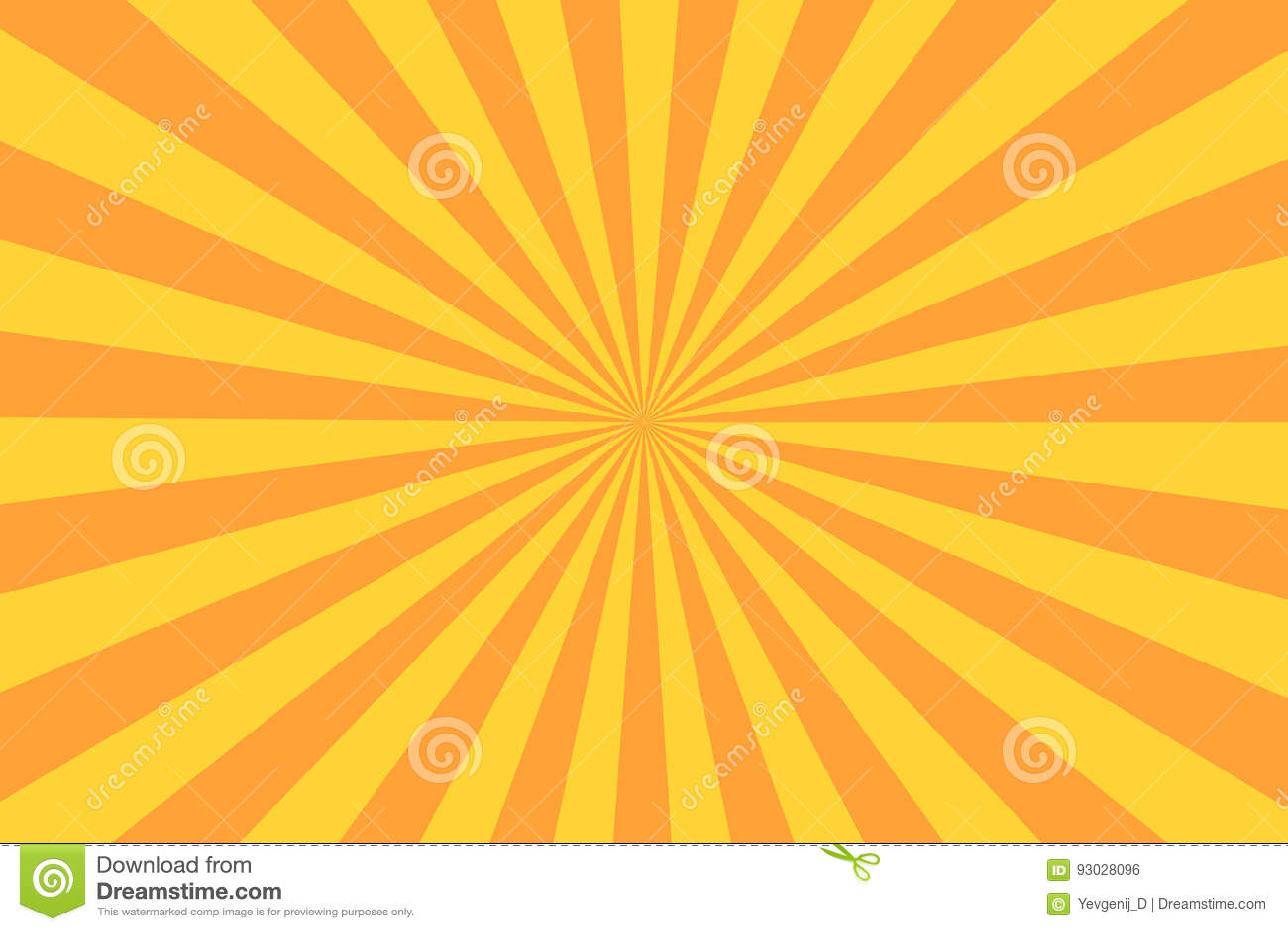 Raio retro do sunburst no estilo do vintage Fundo abstrato da banda desenhada