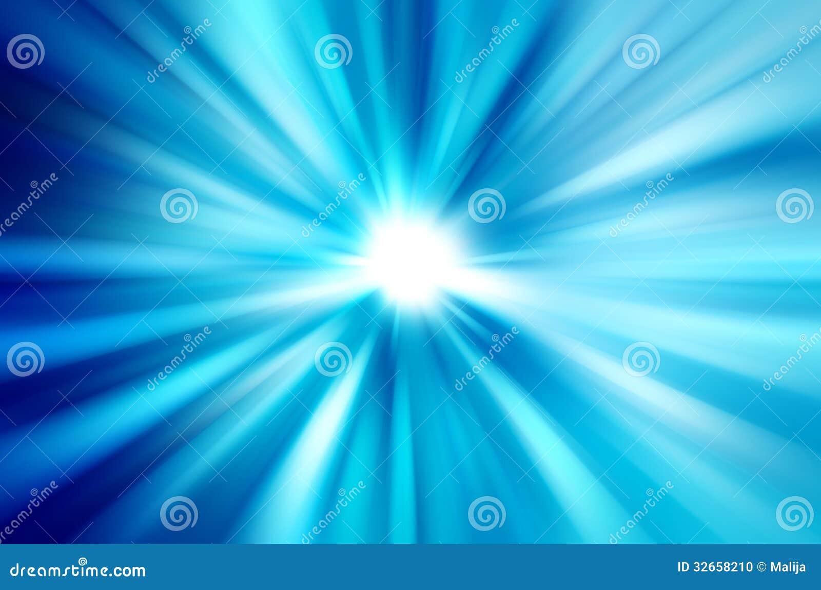 Raios de luz borrados