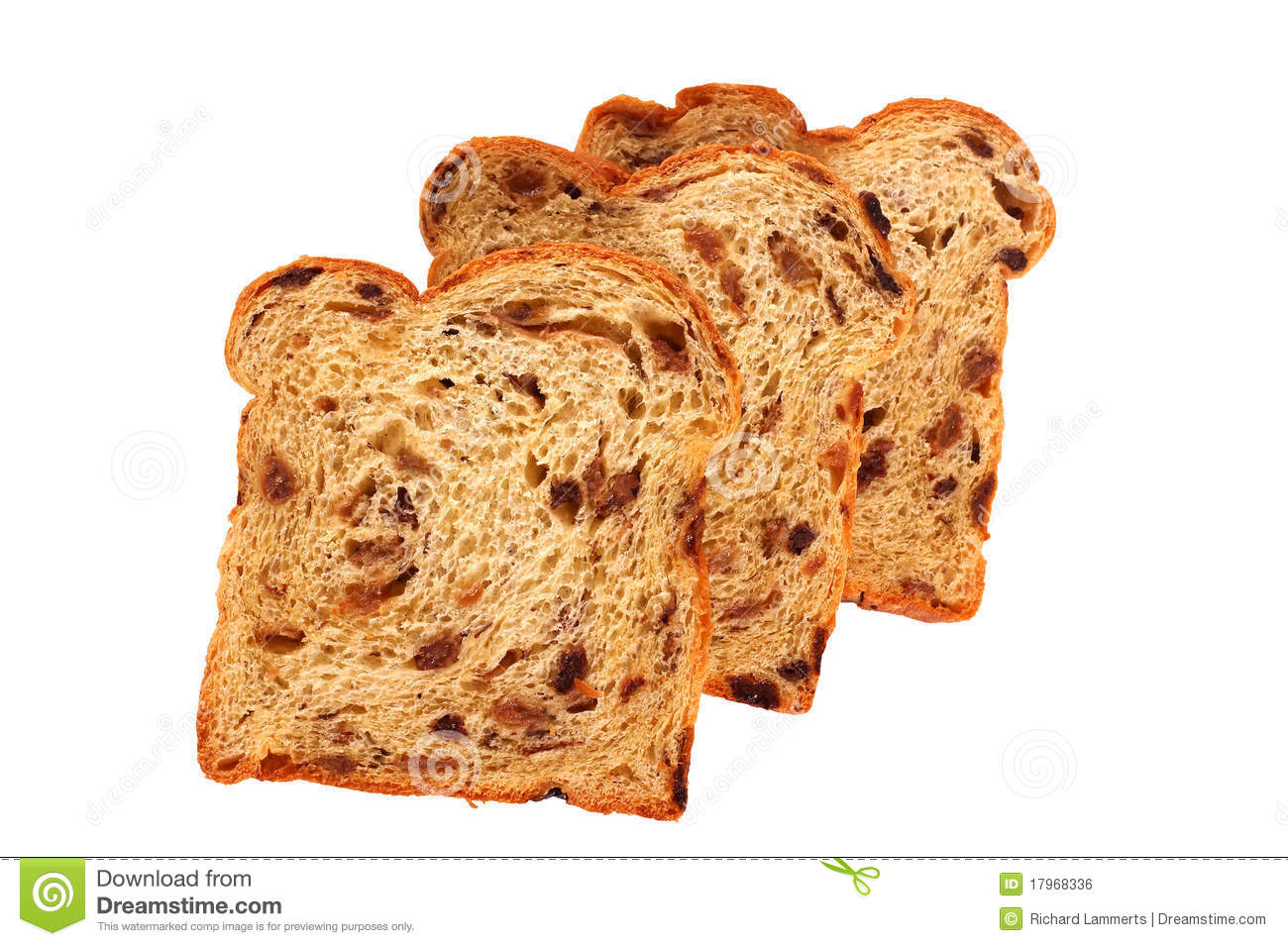 Raisin Bread Royalty Free Stock Image - Image: 17968336