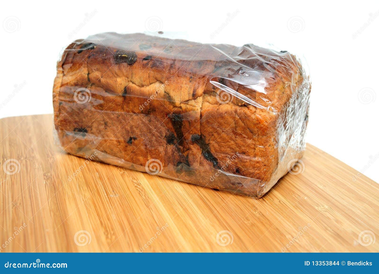 Raisin Cinnamon Bread Loaf Stock Images - Image: 13353844