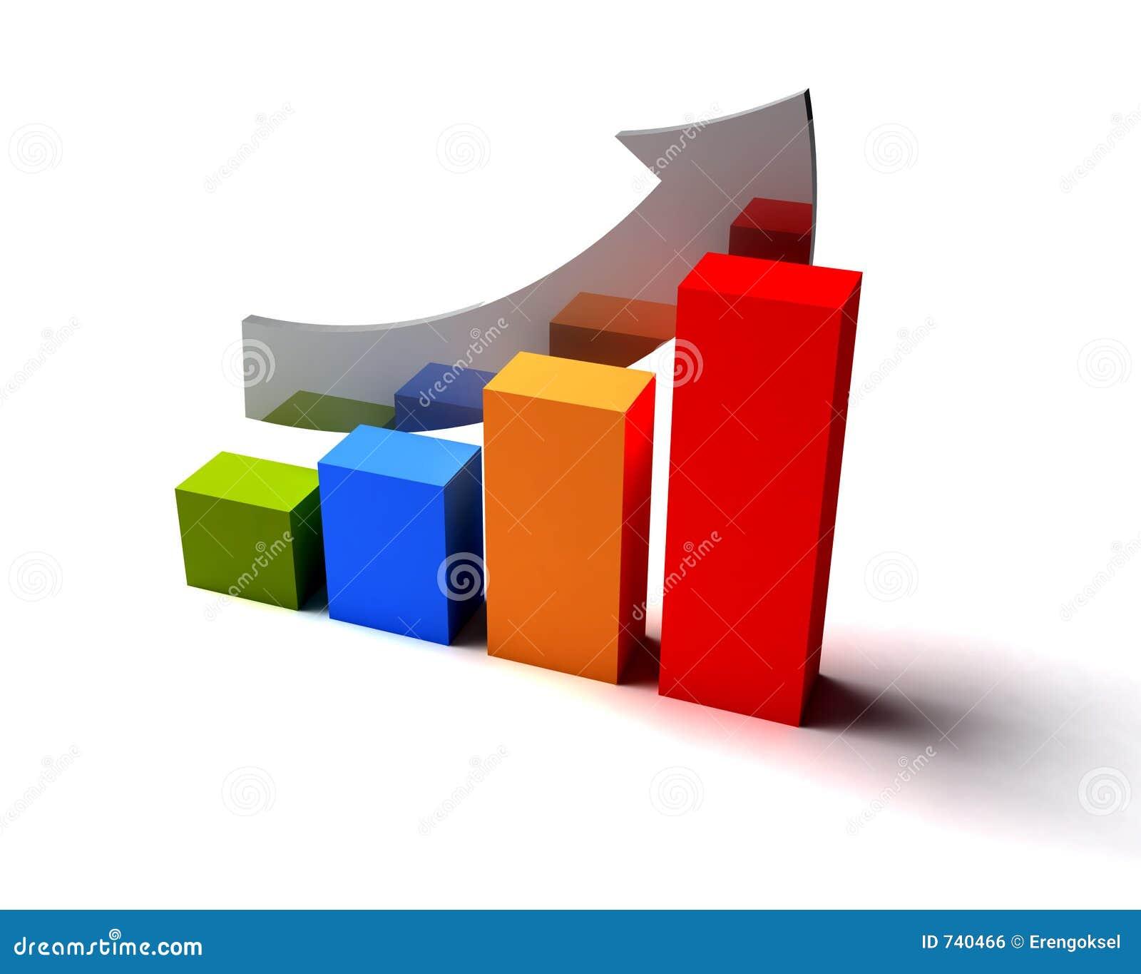 Raising charts stock illustration illustration of business 740466 raising charts geenschuldenfo Choice Image