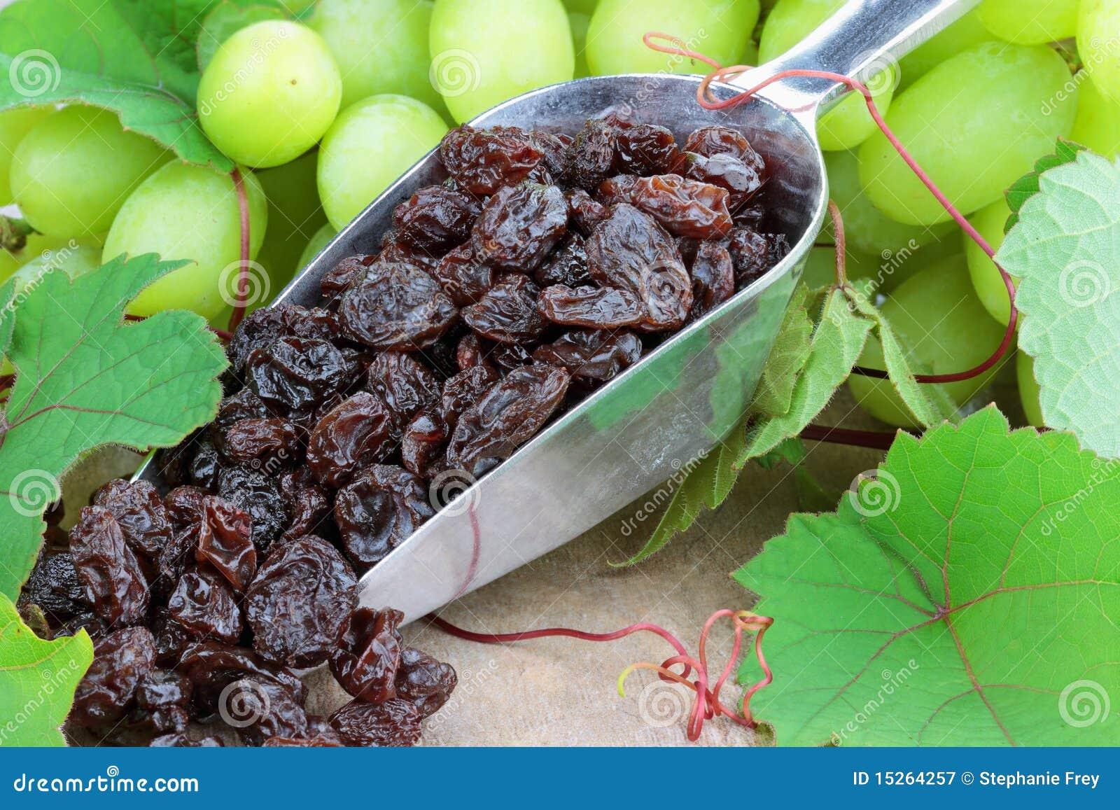 Raisins secs et raisins