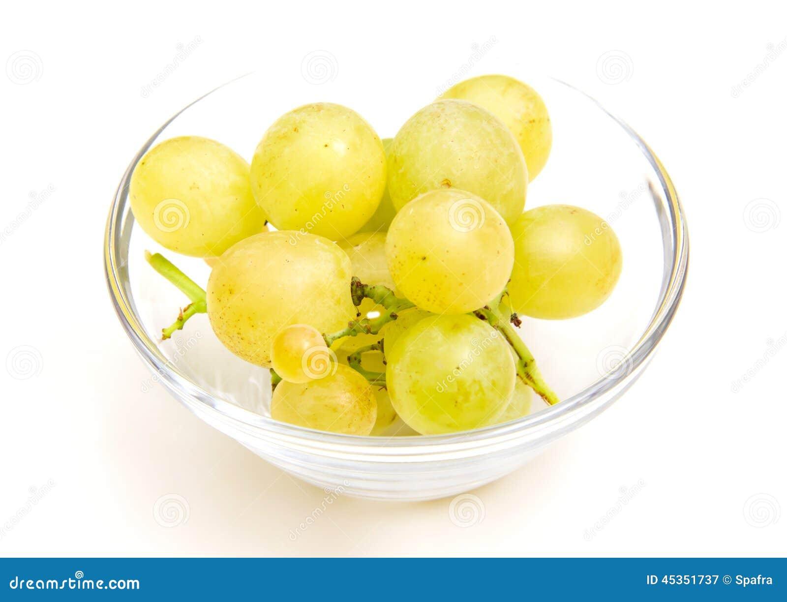 Raisins sur la cuvette
