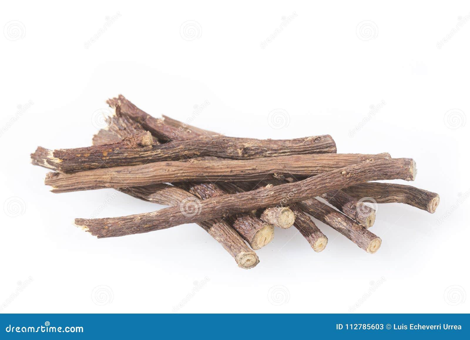 Raiz de alcaçuz - glabra do Glycyrrhiza